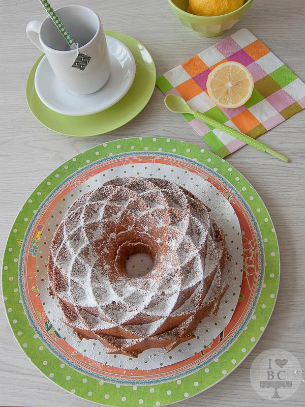 Lemon Curd & Crème Fraîche Bundt Cake
