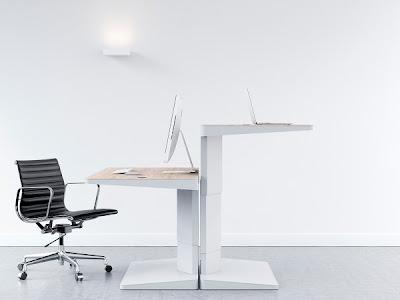 Meja Kerja Kantor Modern
