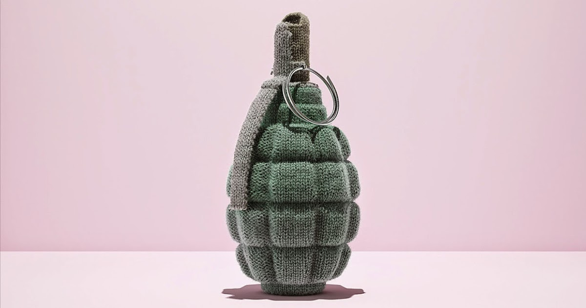 overdressed underprepared knitted weapons by additive