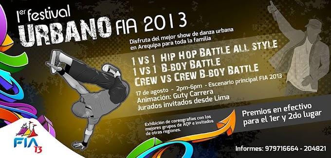 Primer Festival Urbano FIA 2013 (17 agosto)