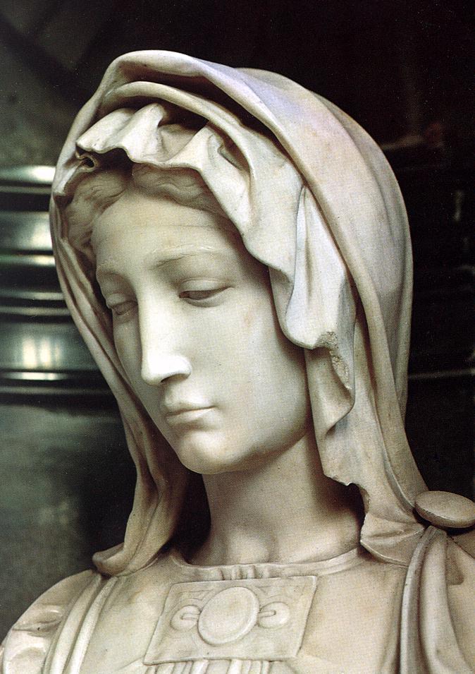 Michelangelo Buonarroti 1475-1564 | La Madonna di Bruges 1503-1505