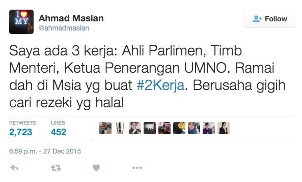 Harith Iskander sindir kenyataan Ahmad Maslan