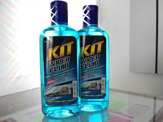Kit Wiper Fluid,Shampoo kaca mobil anda
