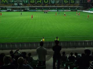 The Accidental Groundhopper: Ground 217: Zimbru Stadium, Chişinău