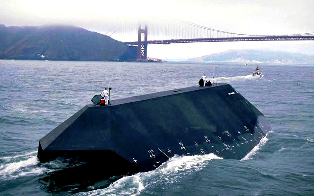 IX 529 Sea Shadow Stealth Ship Wallpaper 4
