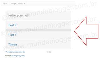 Exibir somente títulos dos posts na página de marcadoress