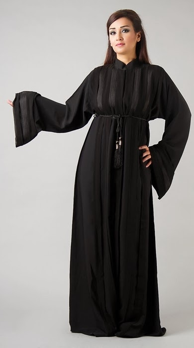Abaya from UAE | Dubai Abaya Designs for 2014-15 | New Emirate Abaya ...