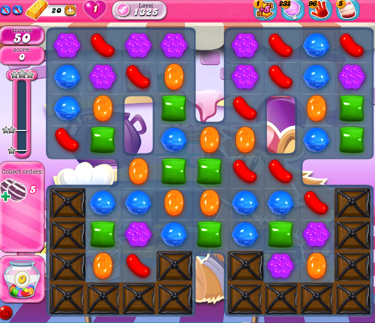 Candy Crush Saga 1325