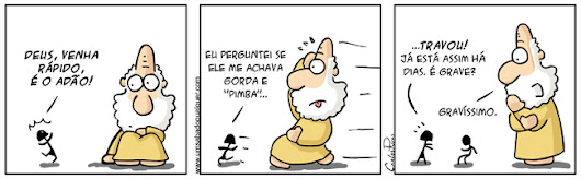 Tirinhas da Luna #68: 'Tô gorda?' | Ordem da Fênix Brasileira
