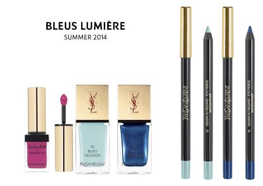 Bleus Lumière de YSL - Summer Look