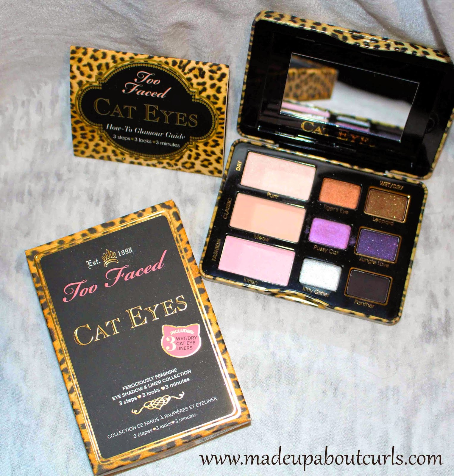 Too Faced Cat Eye Palette by www.madeupaboutcurls.com