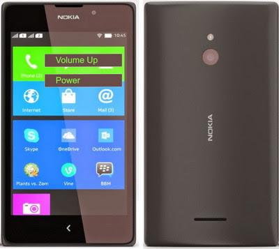 Cara Reset Nokia XL RM-1030