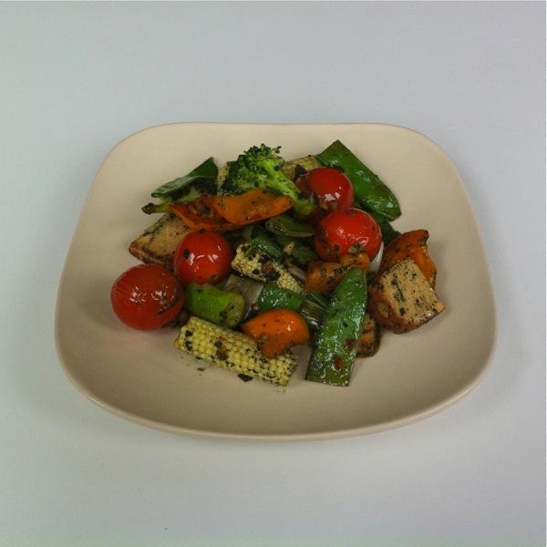 leafu leaf curd stir-fry