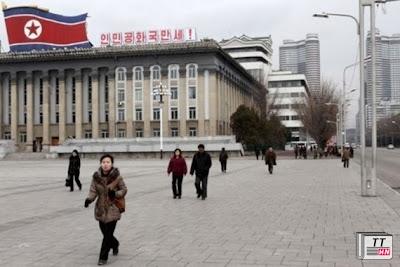 Quảng trường Kim Nhật Thành tại Bình Nhưỡng.
