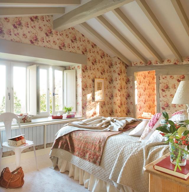 Querido ref gio blog de decora o casa de campo com um toque rosa - Casas de campo restauradas ...