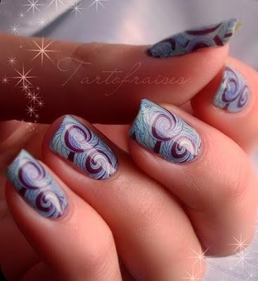 Nail art water decals nail art - Modele nail art ...