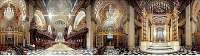 360 degree view of the High Altar at St.Paul's Cathedral