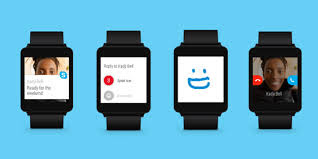 Skype on Android Smart Watch