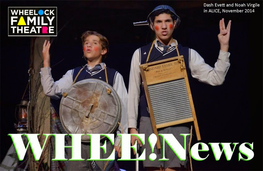 WHEE!News of Wheelock Family Theatre