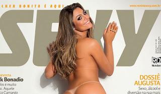 Capa Revista Sexy - Junho 2012 - Monique BBB12
