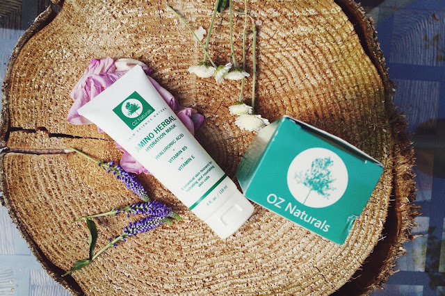 OZ Naturals Amino Herbal Hydration Mask review