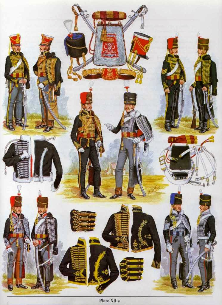 Unlucky General: Uniform Guide: 10th Hussars (Prince of Wales Own ...