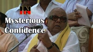 In Mysterious Confidence Karunanidhi Continue To Hope That He Will Get An MP