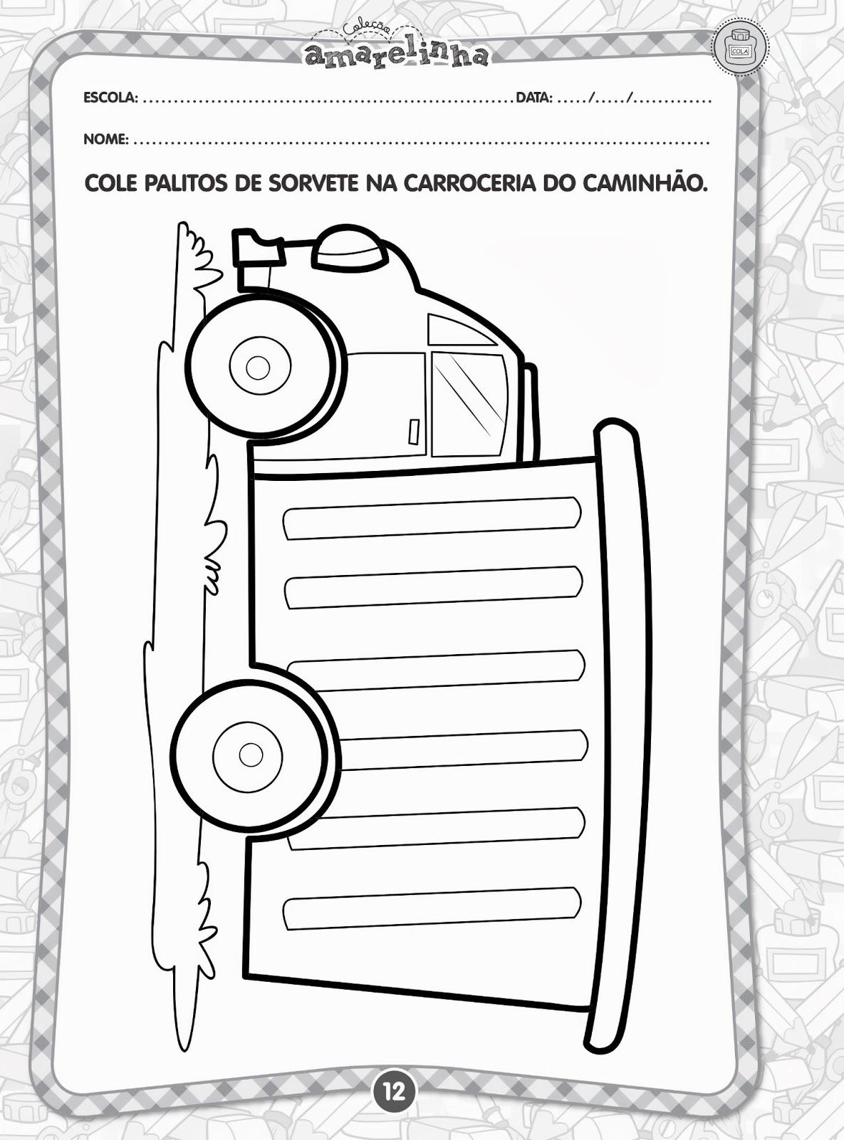 Famosos Aprender Brincando: Coleção Amarelinha Linguagem Oral e Escrita  II53