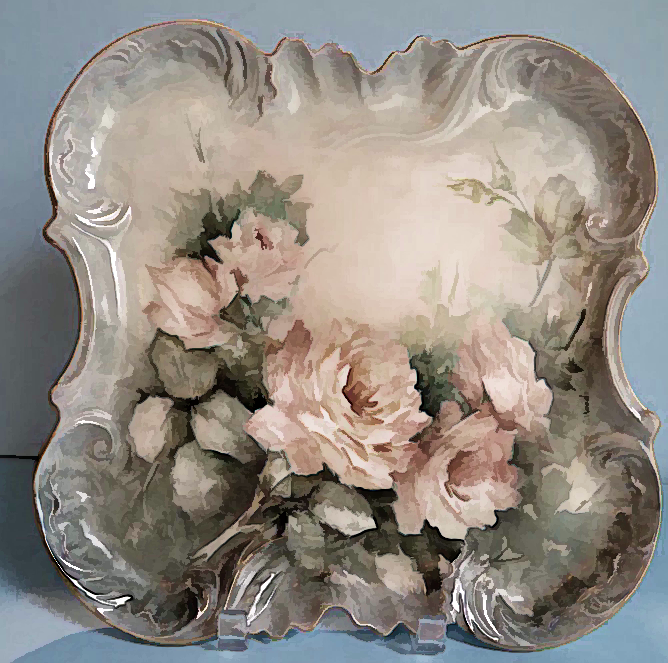 Love the Shape of this Platter