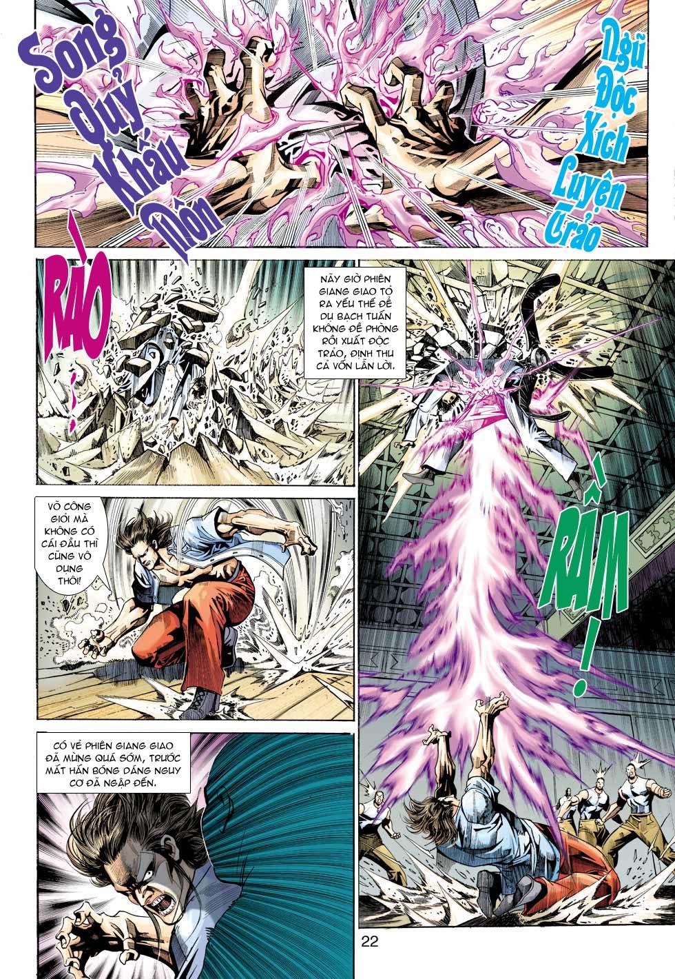Tân Tác Long Hổ Môn chap 343 - Trang 22