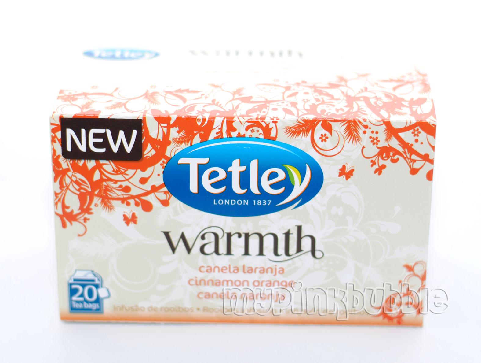 Tetley infusión warmth