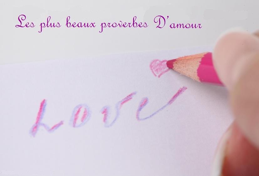 les plus beaux proverbes d'amour