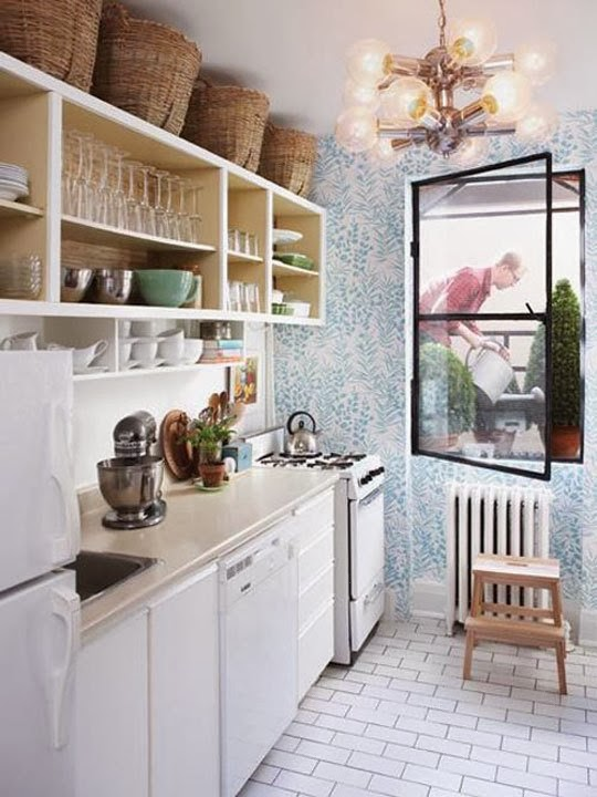 Foto Gambar Desain Interior Dapur Minimalis Modern