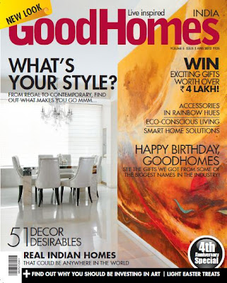 Edible Entertainment Goodhomes Magazine A New Look - home decor magazines in india