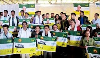 1311 people joins Gorkha Janmukti Morcha in Dooars
