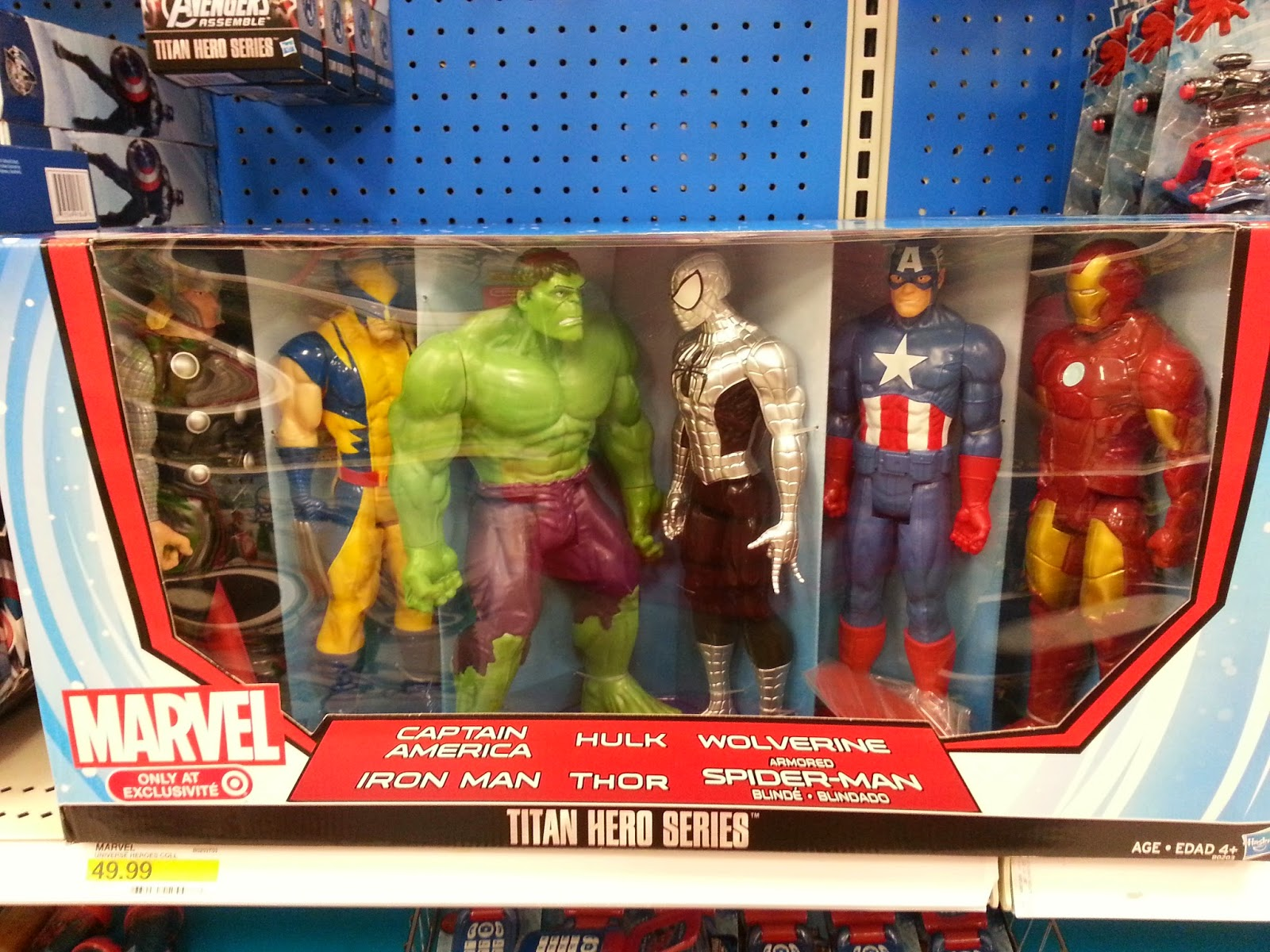 Geek Hash: Awesome Target and Toys R Us Exclusives In Stores Now