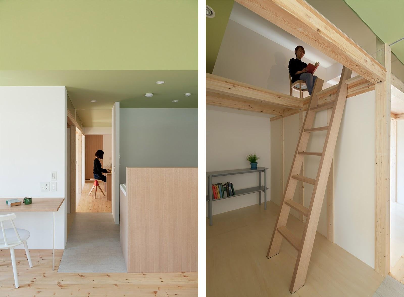 Casa a Fujigaoka con camera soppalco by Sinato architects | ARC ART ...