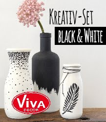 Viva - Kreativ-Set Black & White