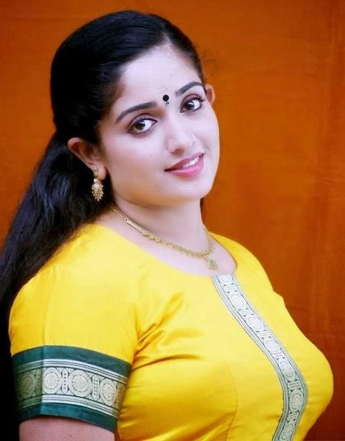 Kavya Madhavan in blouse