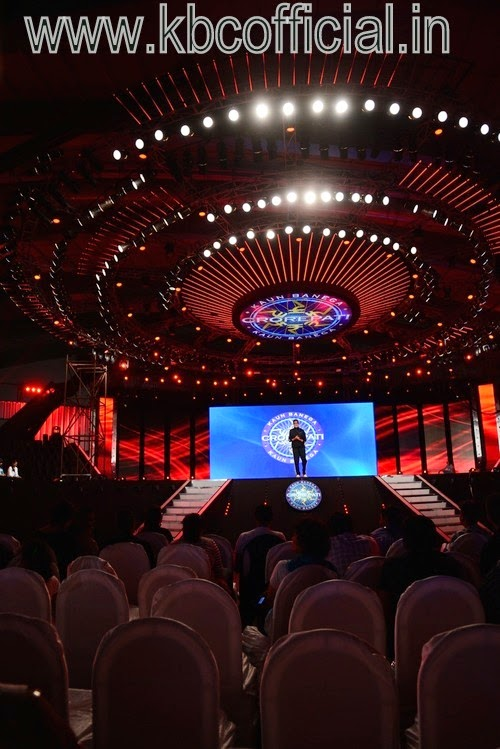 KBC MEGA EVENT : KAUN BANEGA CROREPATI GAME SHOW IN SURAT - Live Pictures