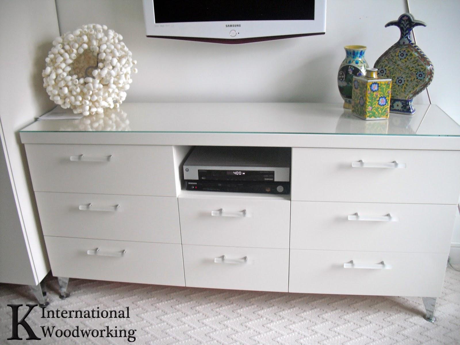 Custom Design Cabinetry Norwood ~ Fresh white bedroom k international woodworking