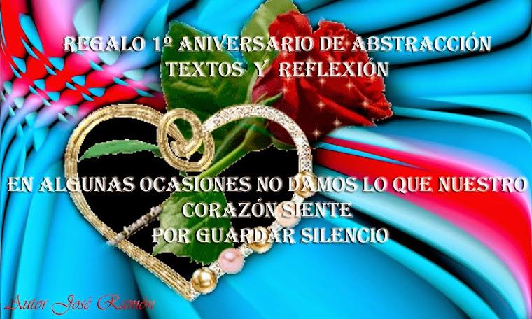 1º Aniversario de Abstracción textos y Reflexión.