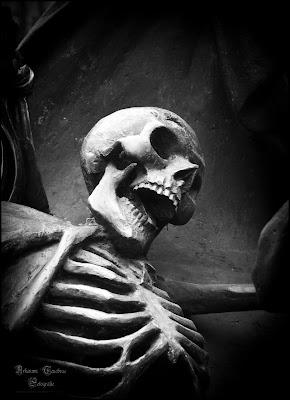 Statue vom Tod
