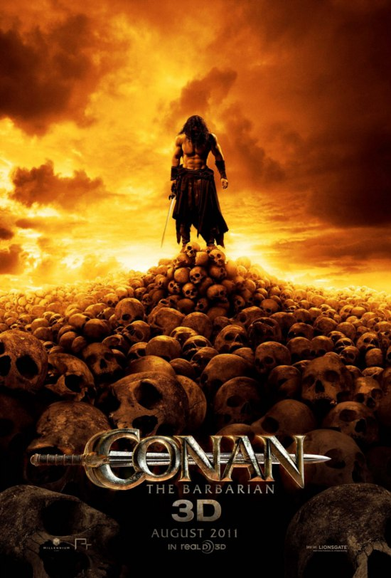 conan the barbarian poster 2011. conan the arbarian poster