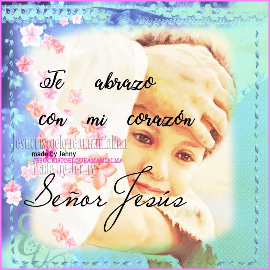 Te adoro Jesús....tú me recomfortas en las aflicciones