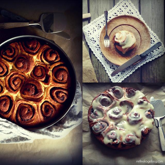 Lækre snaskede kanelsnegle a la Cinnabon - Mit livs kogebog