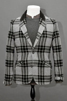TRAILBLAZER PLAID - Mens Cardigan ,Blazer