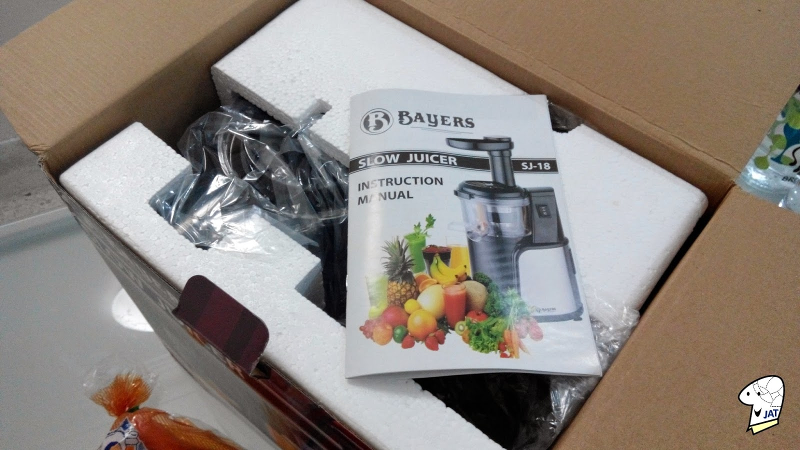 Bayers Dual Stage Slow Juicer, unpacking