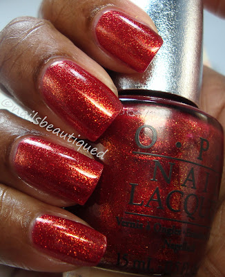 OPI  Designer Shades Series For Fall 2012 Indulgence and Luxurious