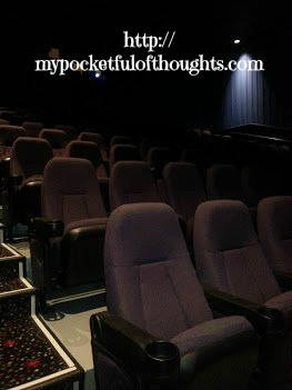 An empty theater room